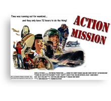 Action Mission Canvas Print