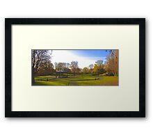 Landscape scene Framed Print