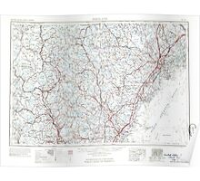 Maine USGS Historical Map Portland 461064 1963 250000 Poster