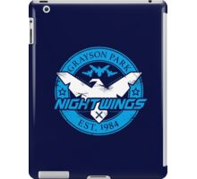 Grayson Park Nightwings White Blue (03 of 04) iPad Case/Skin