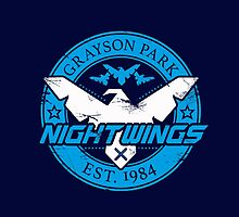 Grayson Park Nightwings White Blue (03 of 04) by coldbludd