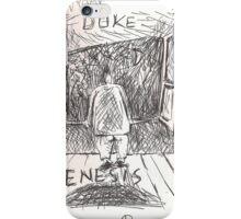 DUKE - GENESIS - HAND REDRAWN(C2012) iPhone Case/Skin