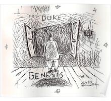 DUKE - GENESIS - HAND REDRAWN(C2012) Poster