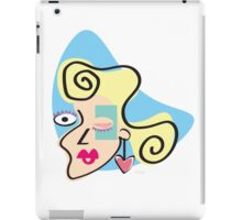 Lady Picasso iPad Case/Skin