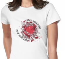 Zippy Heart Womens Fitted T-Shirt