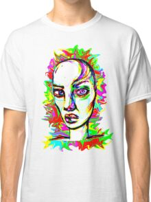 Psychedelic-Pop; Miss Polly Lipp Classic T-Shirt