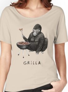 Grilla Women's Relaxed Fit T-Shirt