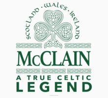 'McClain, A True Celtic Legend' by Albany Retro