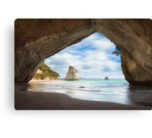 Cathedral Cave Canvas Print