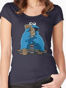 Sesame Hold´em Women's Fitted Scoop T-Shirt