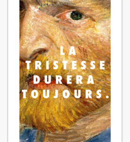Vincent Van Gogh II Sticker