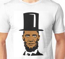 OBAMA LINCOLN UNITED Unisex T-Shirt