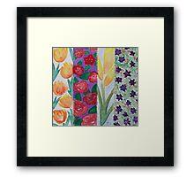 Flowers at Four Framed Print