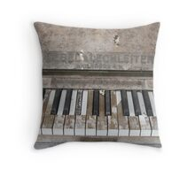 Well Keyed Throw Pillow