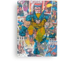 Vintage Comic Wolverine Canvas Print