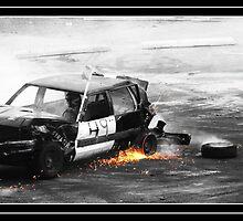 Crash and Burn. by VioletInk
