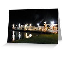 Mannum Ferry Greeting Card