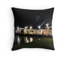 Mannum Ferry Throw Pillow