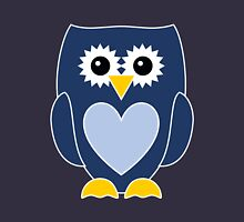 Blue Owl with Heart Unisex T-Shirt