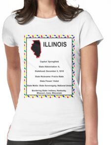 Illinois Information Educational Womens Fitted T-Shirt