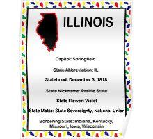 Illinois Information Educational Poster