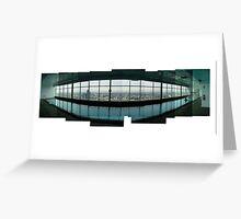 QV Swimming Pool Greeting Card