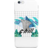 bruh chill iPhone Case/Skin