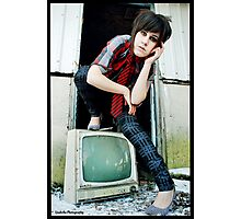 Retro Punk Photographic Print