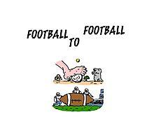 Football To Football Photographic Print