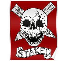 Vampire Skull Poster