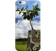 One Tree One Post iPhone Case/Skin