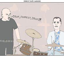 Forrest Gump + Whiplash by altanimus