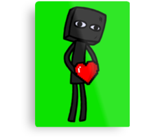Enderbro Finds A Heart Metal Print