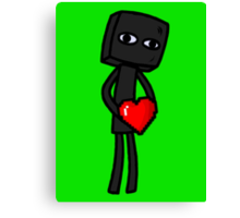 Enderbro Finds A Heart Canvas Print
