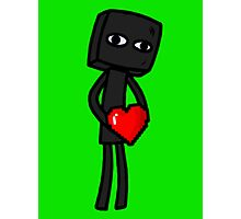 Enderbro Finds A Heart Photographic Print