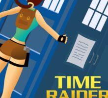 Time Raider Sticker