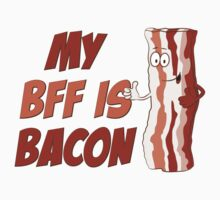 My BFF Is Bacon Baby Tee
