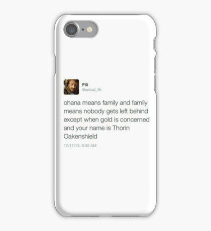 Fili - Tweets iPhone Case/Skin