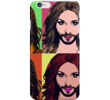 Conchita Wurst - Pop Art iPhone Case/Skin