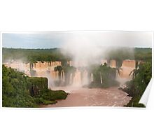 The Red Falls of Iguazu, Argentina/Brazil border #3 Poster