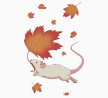 Autumn Leaves (white) Kids Clothes