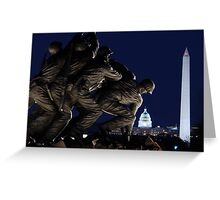 Revisited - Semper Fi Greeting Card
