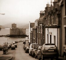 Barra - Shops & Castle by Larry Lingard-Davis
