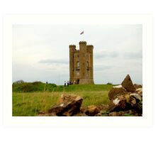 Broadway Tower Cotswolds Art Print