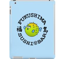 Blowfish (Lt.Blue) iPad Case/Skin