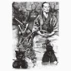 Yamaoka Tessyu - Kendo by Alleycatsgarden