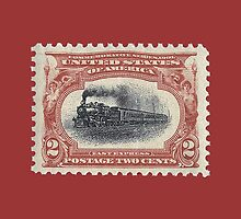 Pan-American Exposition two cent stamp, 1901 by JoAnnFineArt