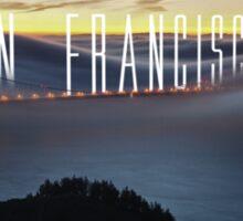 San Francisco - Golden Gate Bridge Sticker