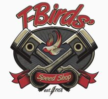 T-Birds' Speed Shop Kids Clothes