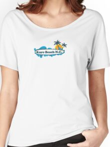 Kure Beach - North Carolina. Women's Relaxed Fit T-Shirt